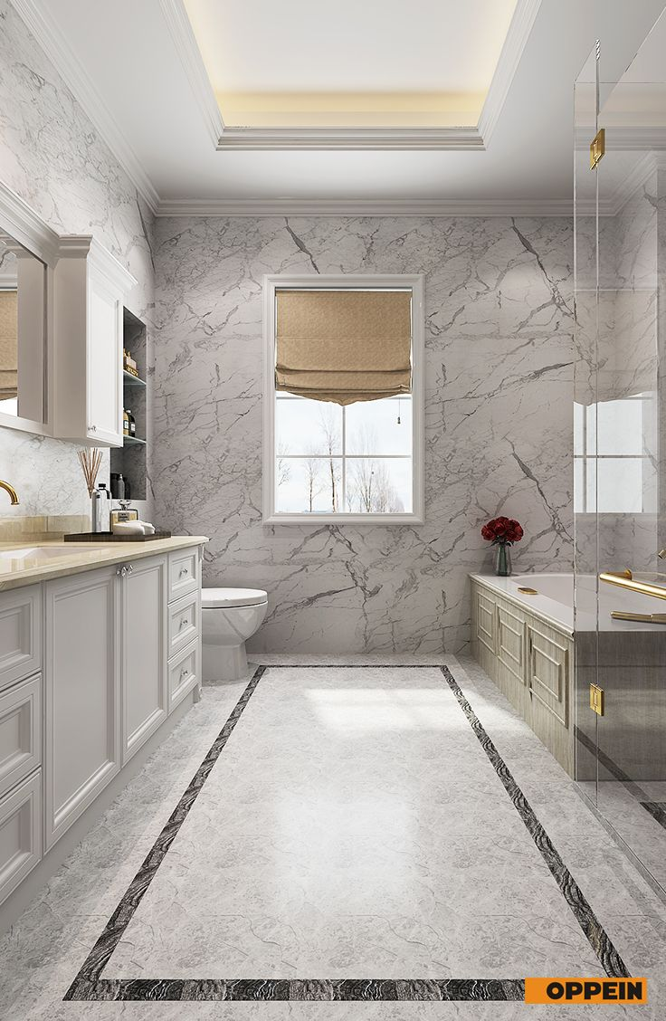 #bathroom Neo Classical Style In Whole House Design