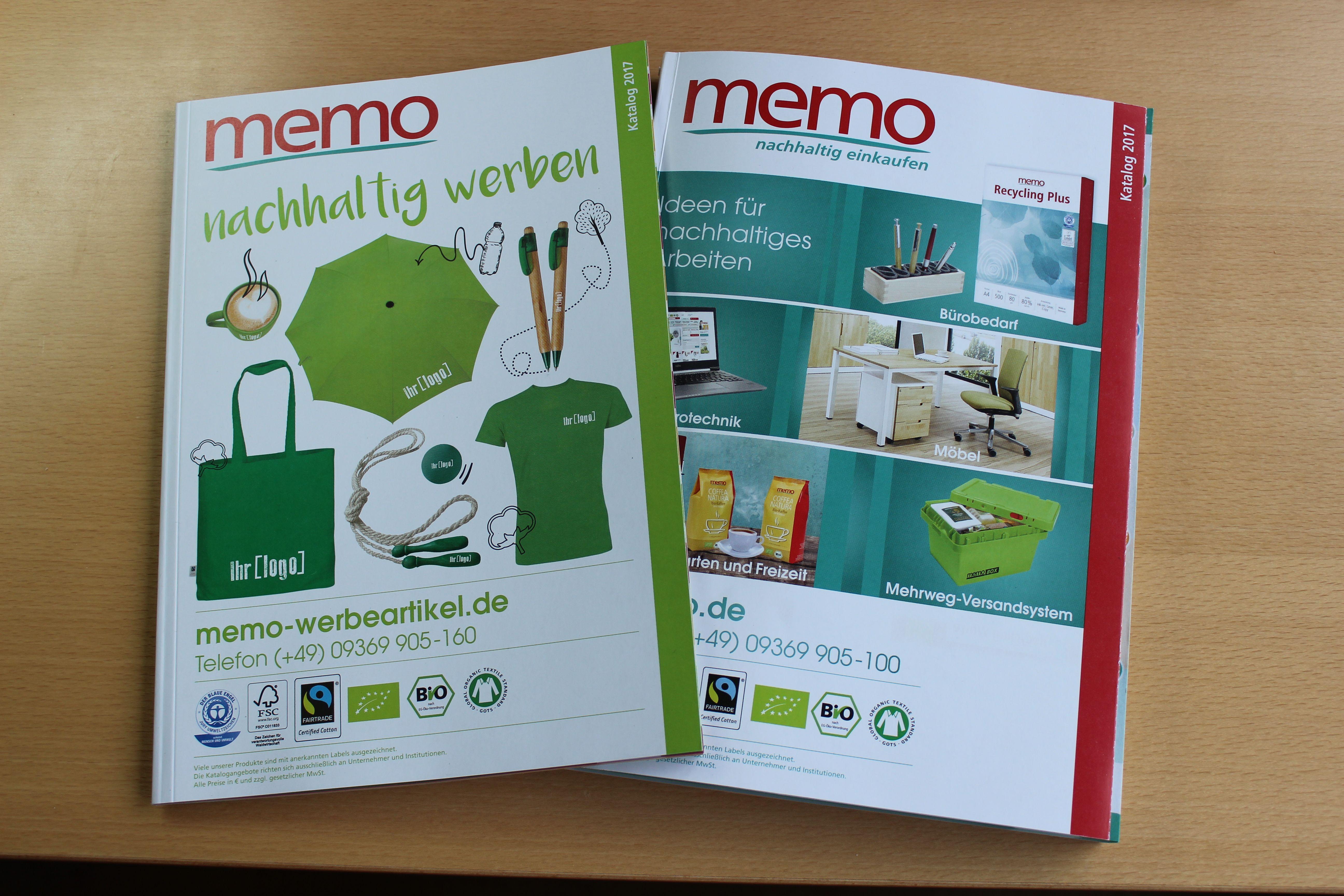 2 brandneue Gewerbekunden-#Kataloge der #memo_AG unter http://bit.ly/2j3K3YY  bestellbar! Mehr Infos hat forum-CSR: | Two brand new #catalogues for #B2B memo customers available under http://bit.ly/2j3K3YY - More information: http://bit.ly/2ifOEKq
