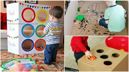 Tus Cartón 15 Para Mejores Juguetes Con Ideas Los Niños Hacer 3FclKJT1