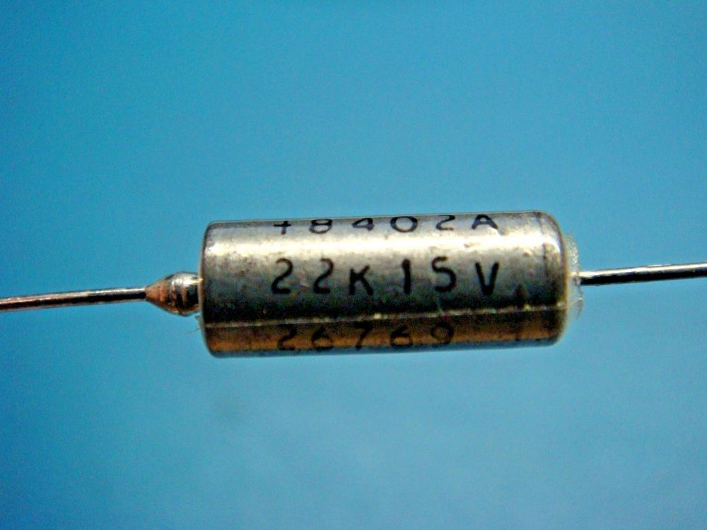5 Sprague M39003 01 2271 22uf 15v 10 Axial Tantalum Solid Capacitor Nos Sprague Diy Tech Capacitors Airsoft