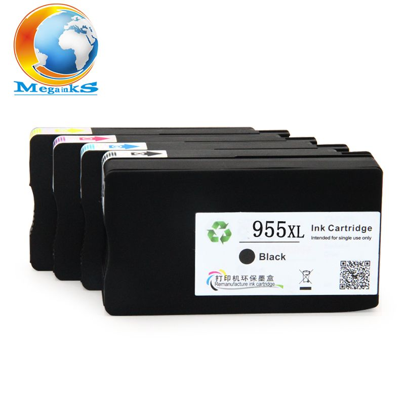 4 Color For Hp 955xl 955 Xl Ink Cartridge For Hp Officejet Pro 7740 8210 8216 8702 8710 8715 8720 8725 8730 8740 Pr Ink Cartridge Hp Officejet Pro Hp Officejet