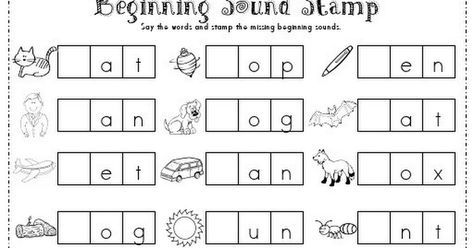 Free Phonics Worksheets For Kindergarten Pdf