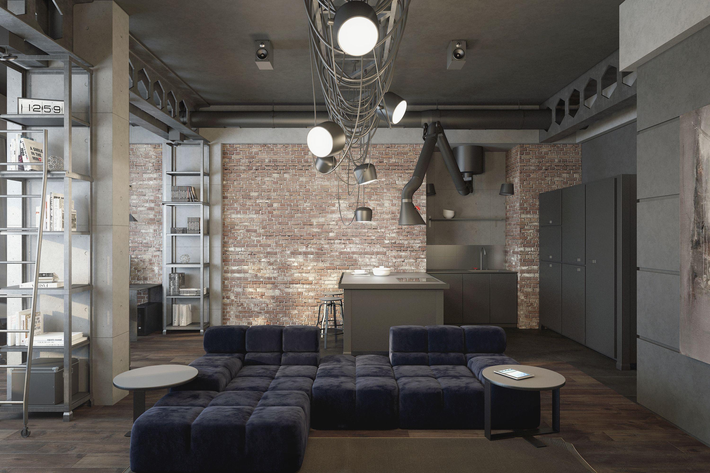 Apartment in KyivArchitects: Yuriy ShalatskiyOleksandr LygaVisualizer: Olia Pietunova