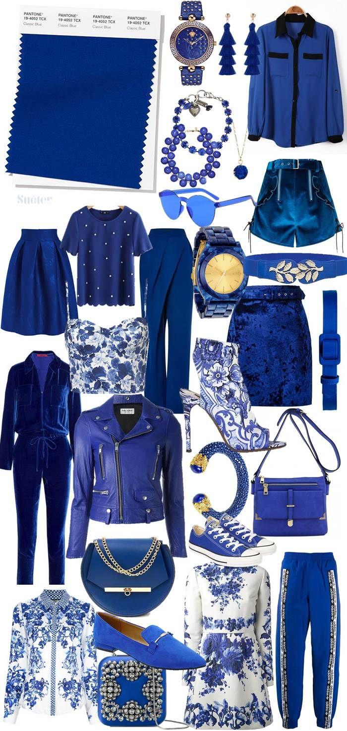 Suéter Azul: Cor do ano 2020 - Pantone Classic Blue
