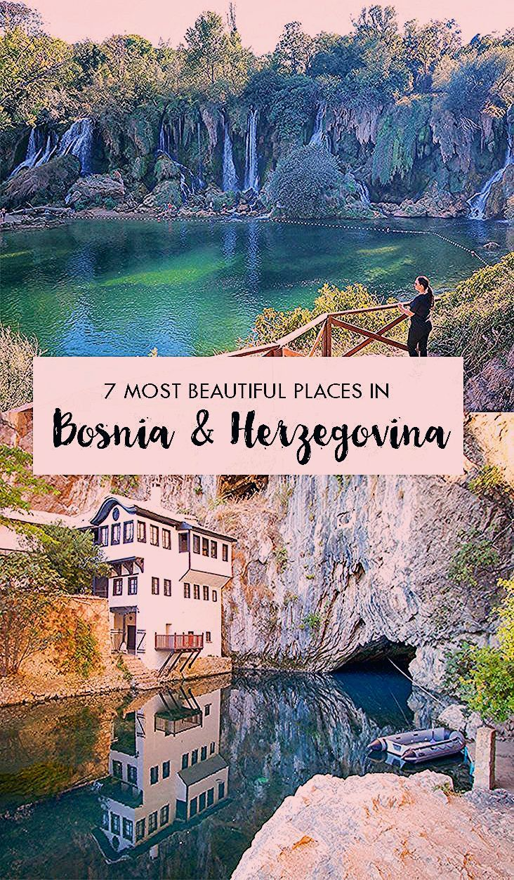 The 7 most beautiful cities in Bosnia - Adventurous Miriam