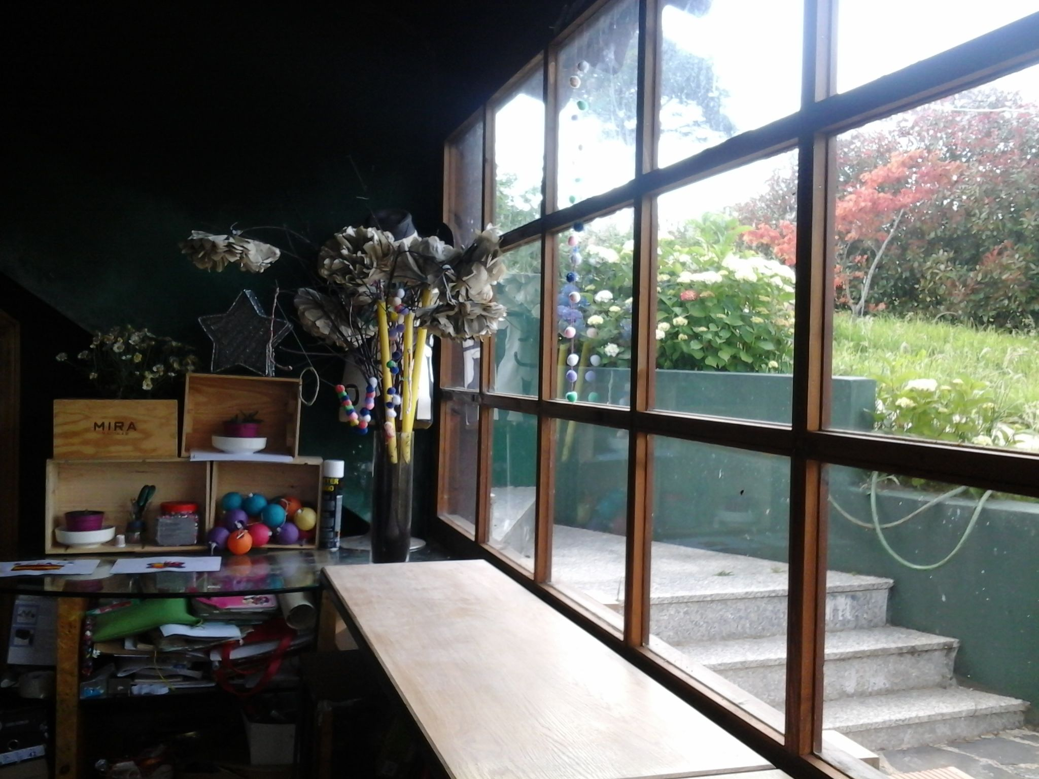 light and view in my working space.