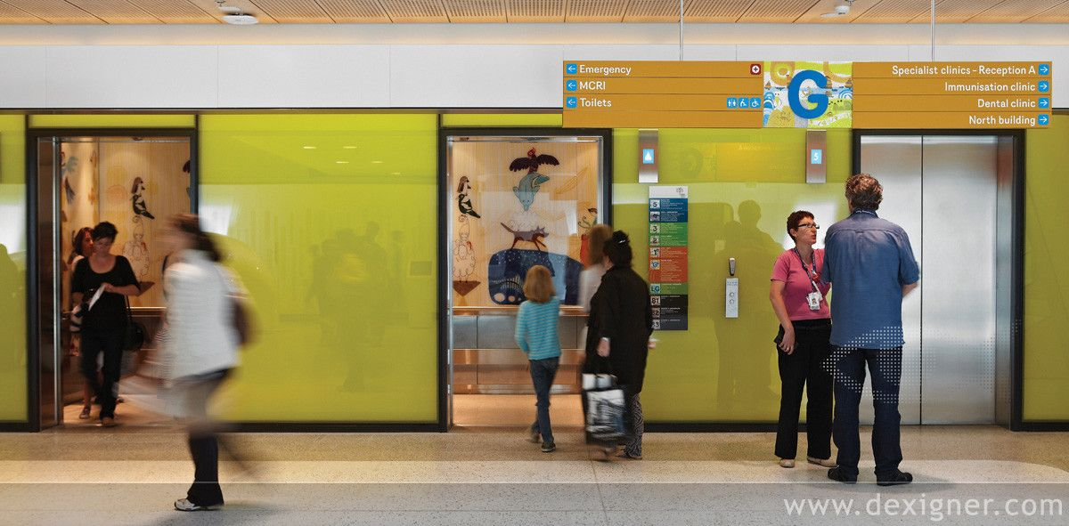 Wayfinding Solution for the Royal Children's Hospital