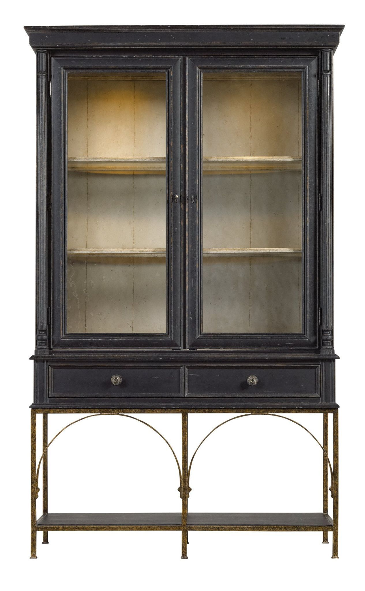 We Offer Our Own Antique Inspired Find In The Salon Cercle Cabinet Resting On A Metal Base S Gl