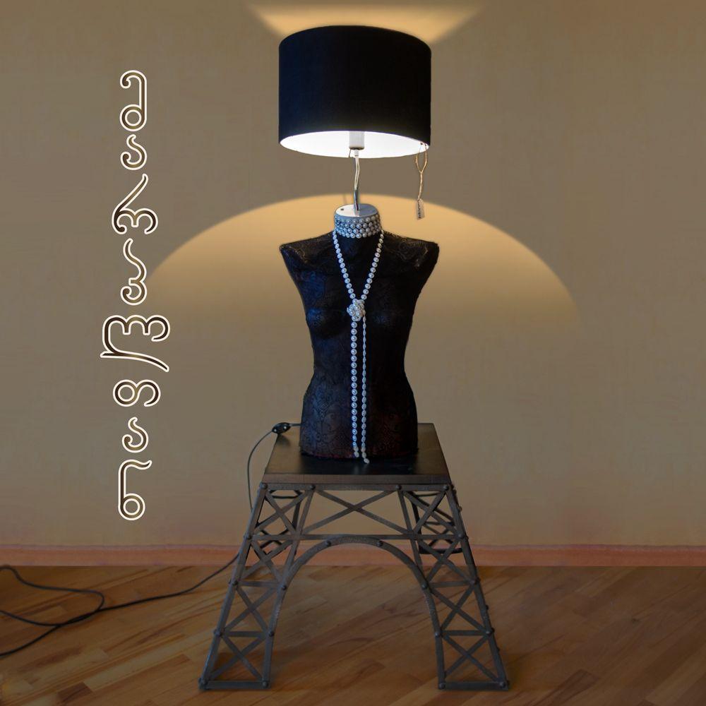 Mannequin handmade lamp #mannequin #lamp #tablelamp #მარპლთან #ავეჯი #სანათი #მანეკენი