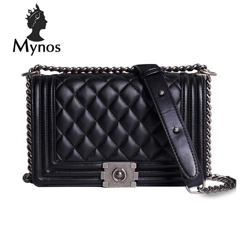 c3adce3eca79 MYNOS Luxury Fashion Brand Designer Handbags Small Women Bags Ladies ...
