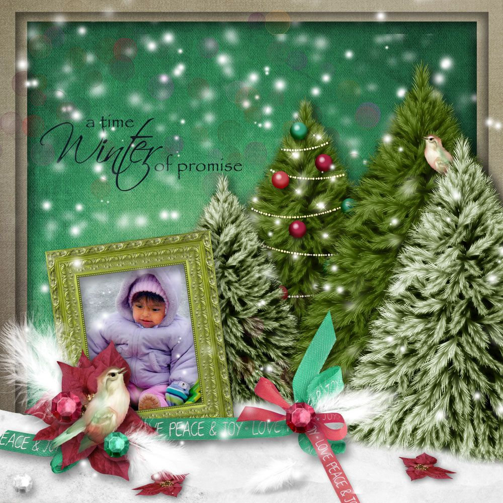 Mini Tannenbaum O Tannenbaum Mini Kit Created By Manu Scraps Available At Digital