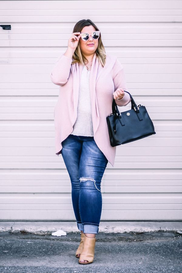 b9bd5021ab5c0 Image result for skinny jeans ankle boots cardigan plus size