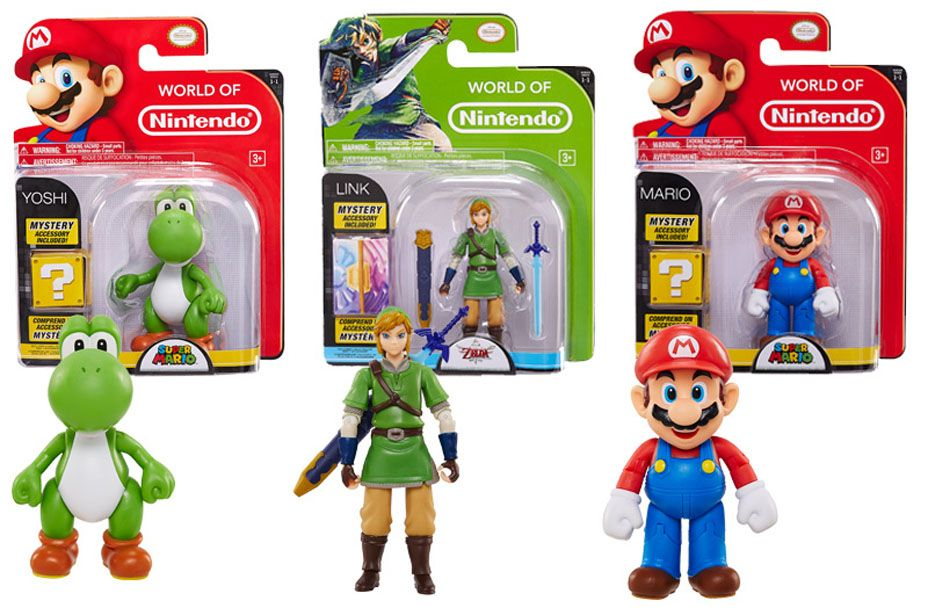 Jakks Pacific World Of Nintendo 4 Inch Figures Nintendo Toys World Of Nintendo Figures Toys