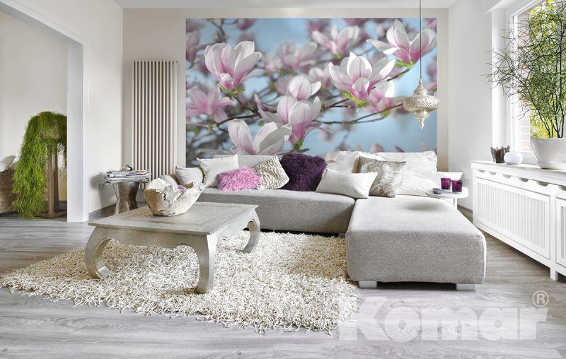Tapeten Shop traumtapete de der tapetenshop komar fototapete magnolia 8 738