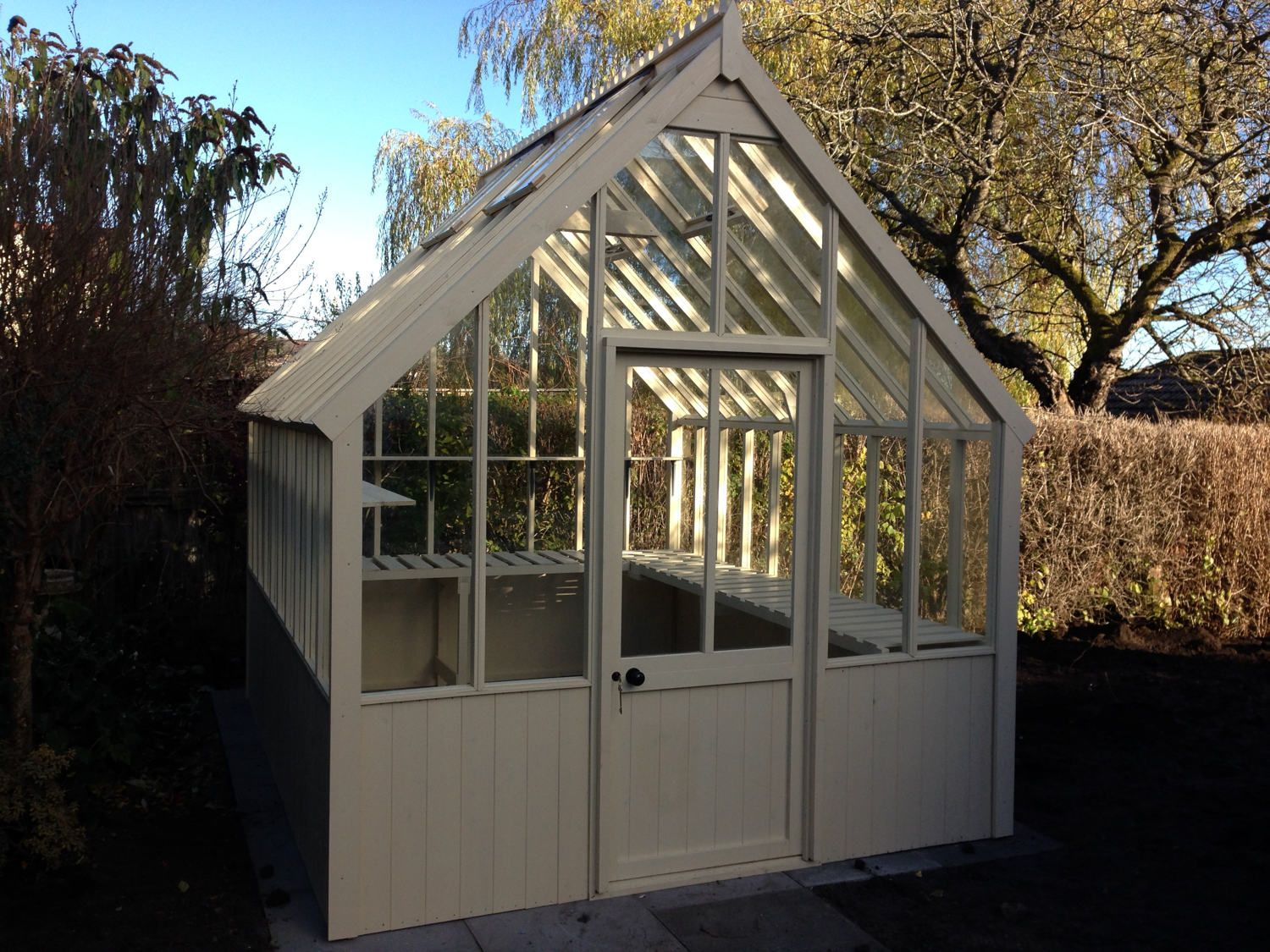 Cotswold Victorian 8x14 Wooden Greenhouse Wooden