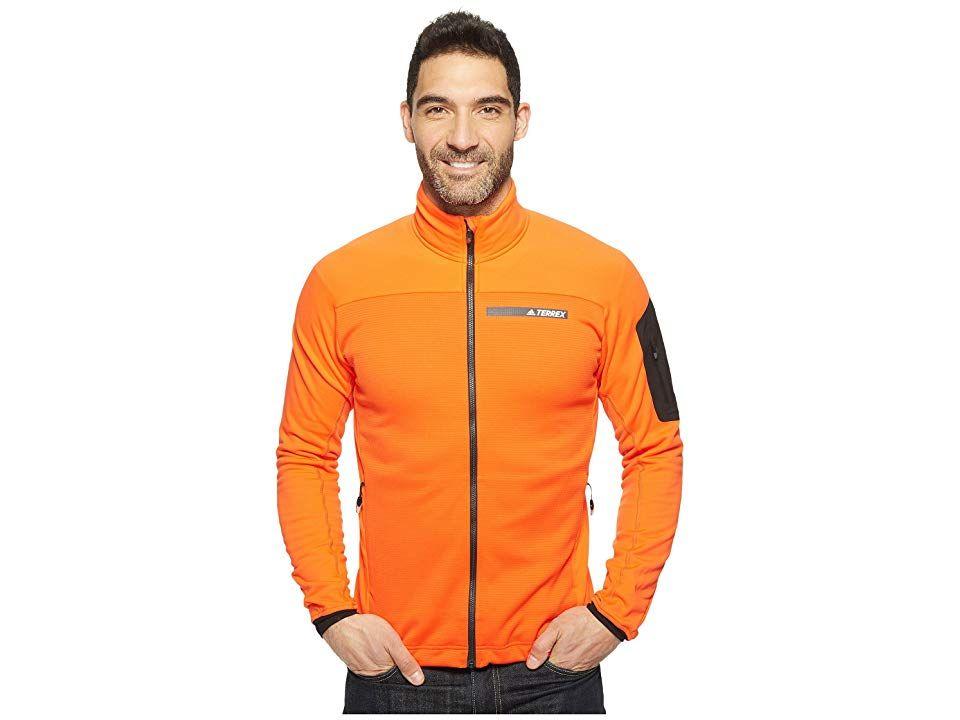 adidas Outdoor Terrex Stockhorn Fleece Jacket (Energy) Men's