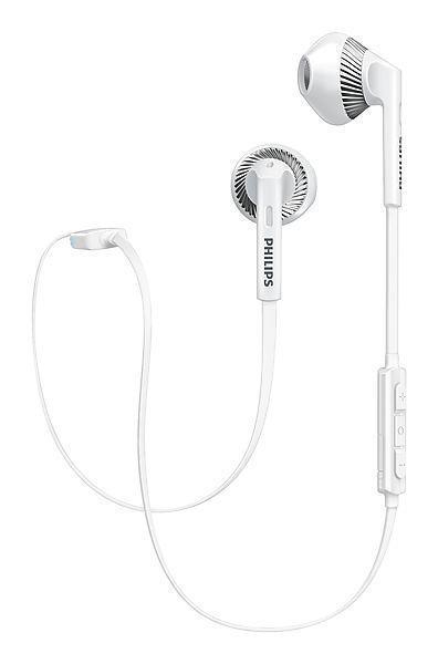 Philips Shb5250 White Myjam Freshtones Wireless Bluetooth Headphones