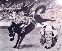 "Monty ""Hawkeye"" Henson, 1994 PRCA Hall of Fame. 3 time World Champion Saddle Bronc"