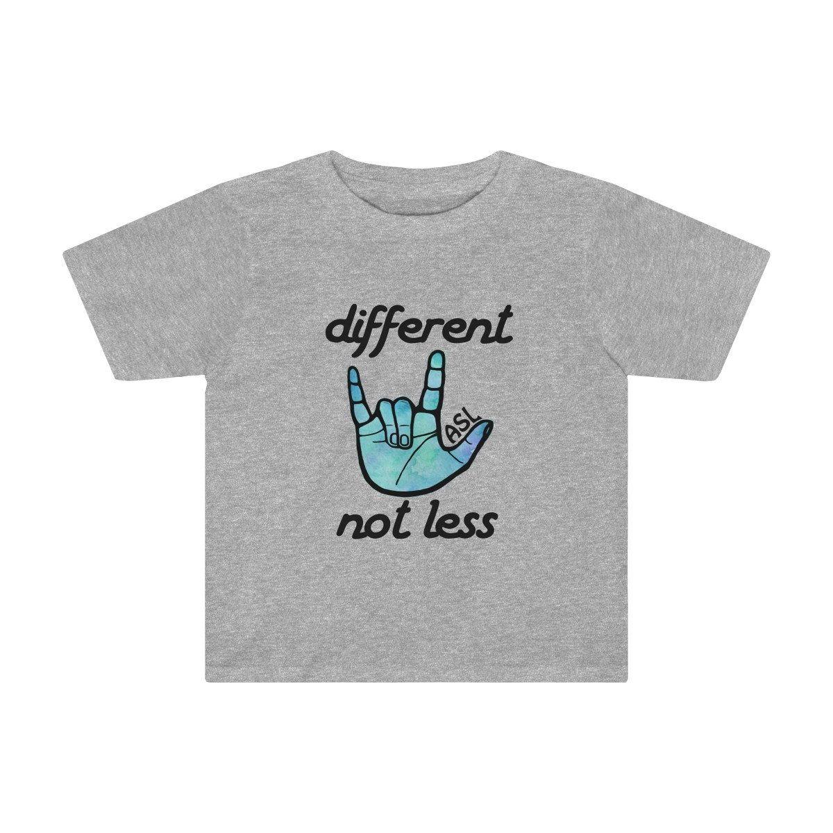 girl size 7 Deaf awareness shirt