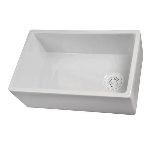"""Barclay 30"""" Farmer Sink In Fireclay White At Menards  Perfect Beauteous Menards Kitchen Sinks Review"""