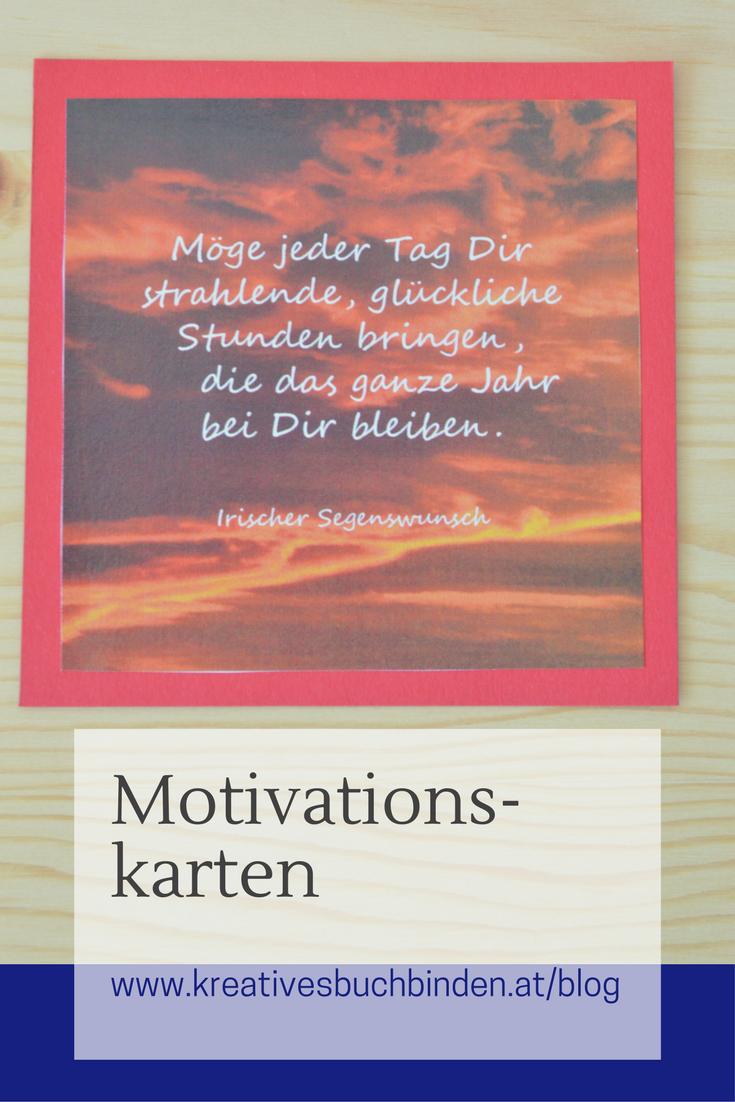 Motivationskarten Spruche Diy Geschenke Basteln Anleitung Und