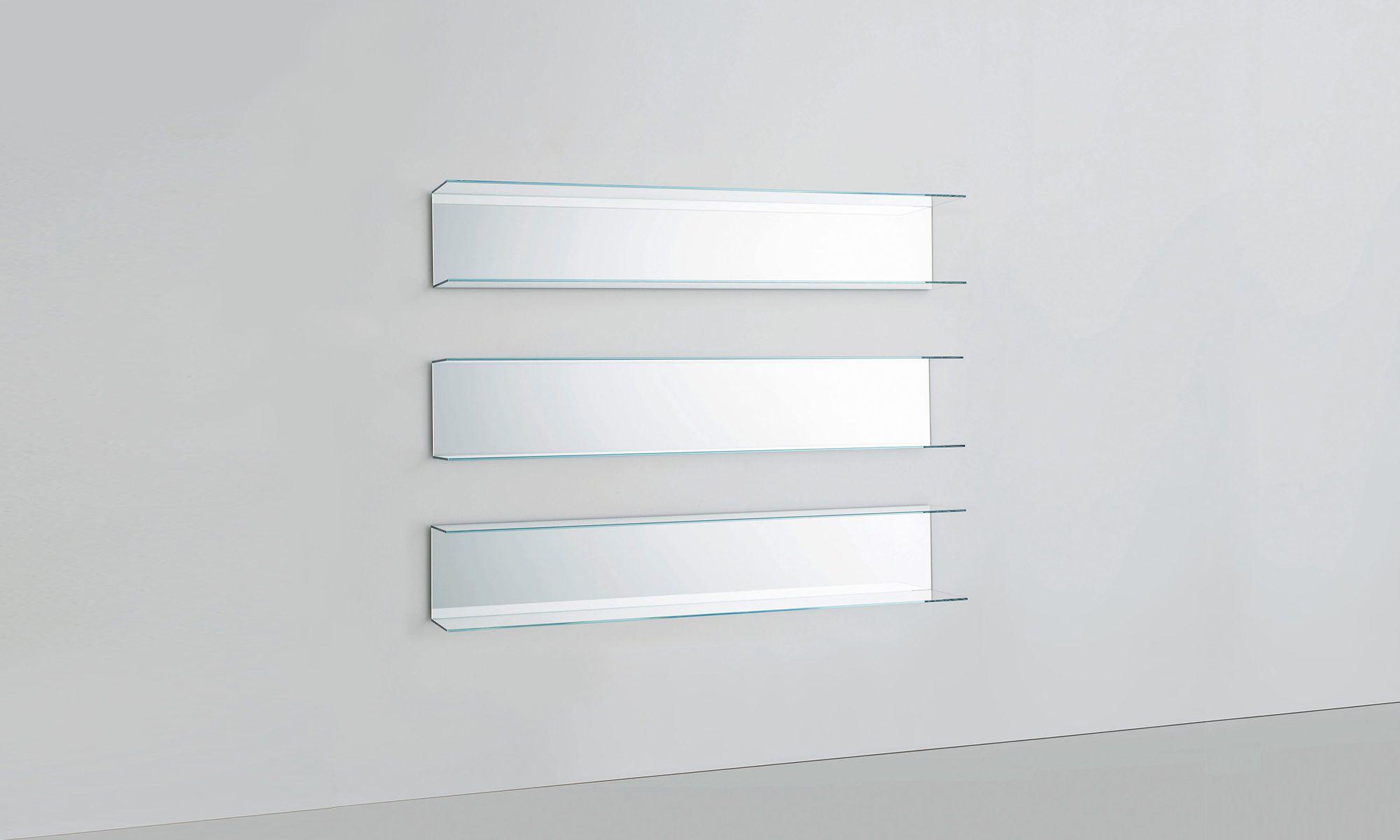 Everywhere Shelves by Design Studio GL for Glas Italia