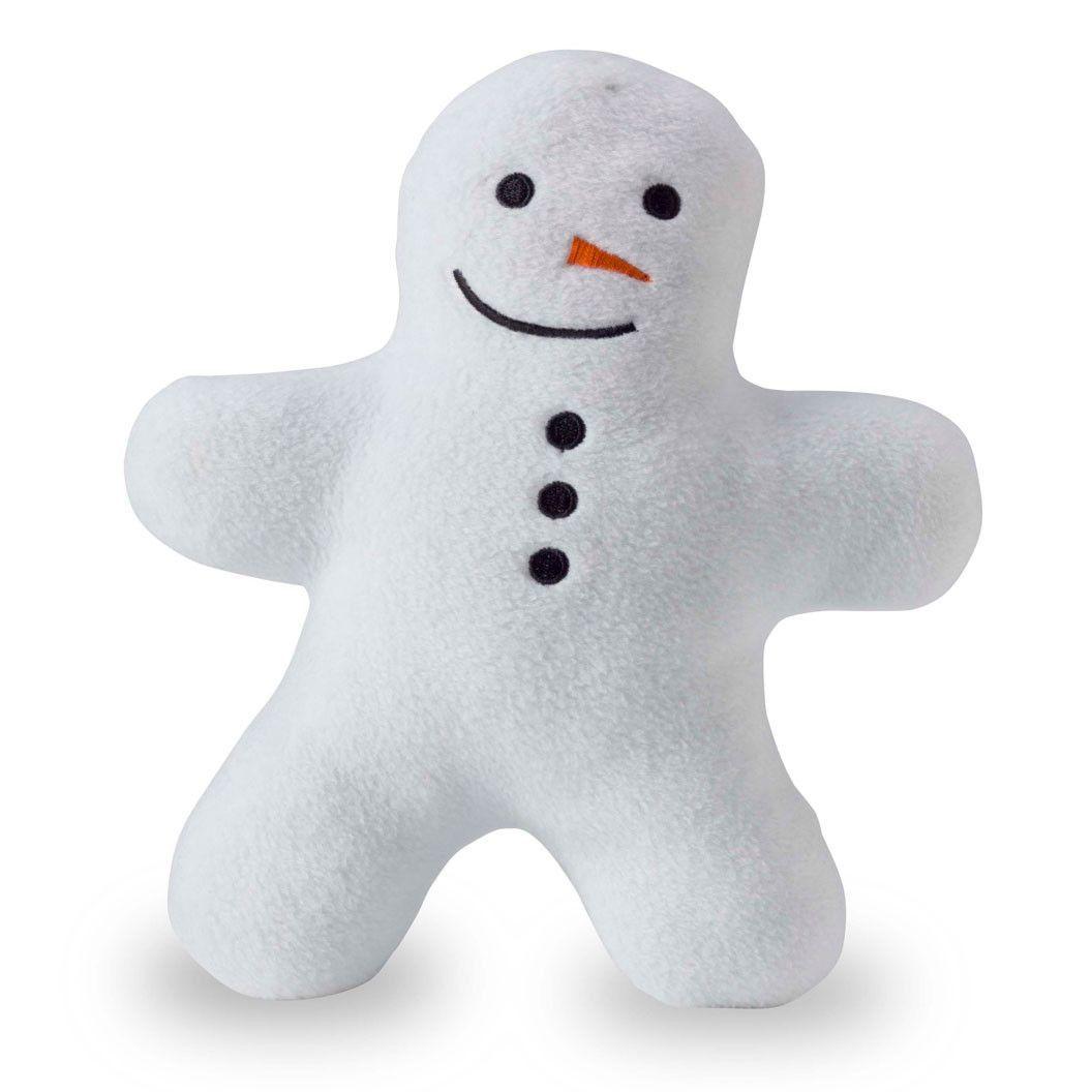 Planet Dog Squeaky Plush Snowman Buddy Holiday Dog Toys Dog