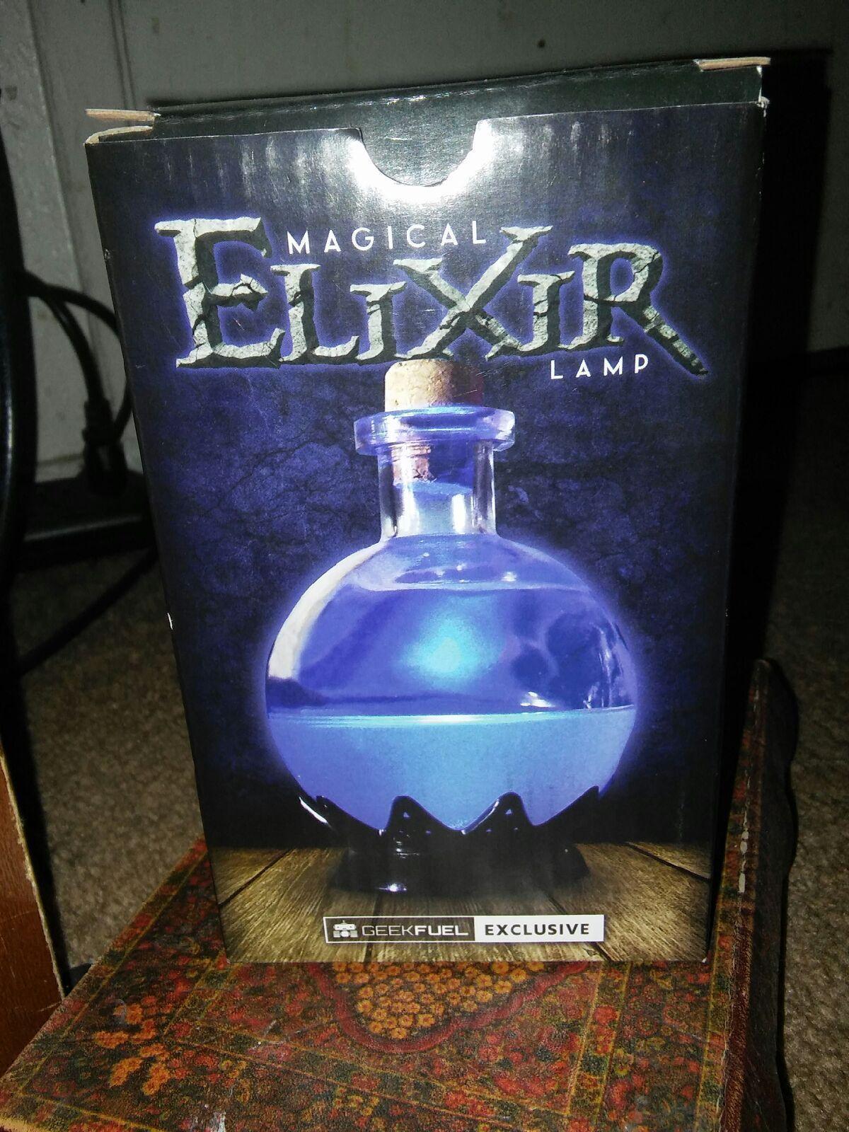Cool Item Magical Ellxir Potion Led Lamp Magical Lamp Magical Cool Items