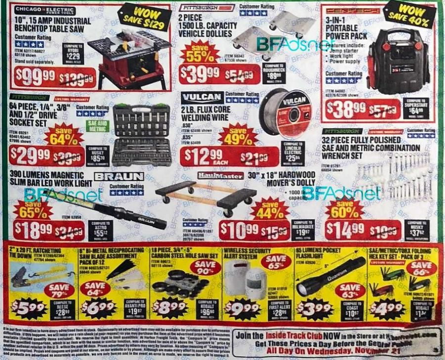 Harbor Freight Black Friday 2018 Black friday, Harbor