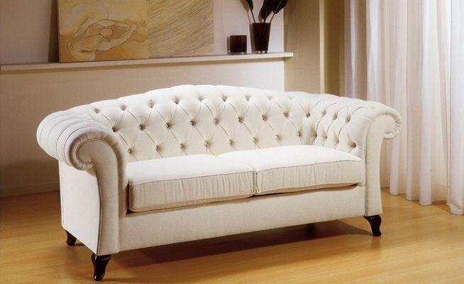 Muebles capitone para la 654 400 sofas for Sofas tela modernos