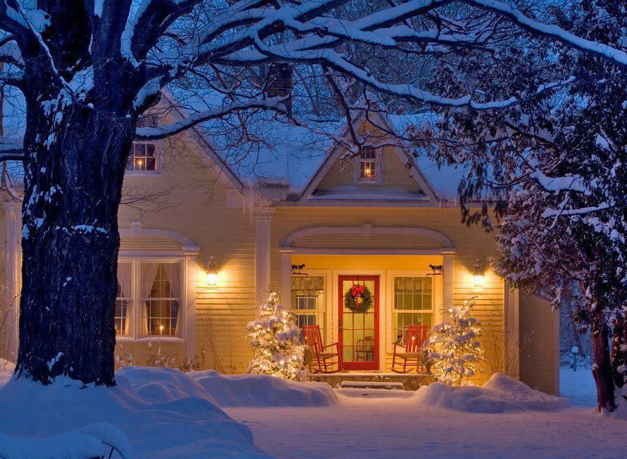 Christmas House in Maine Vacation Home - Heaven on Earth