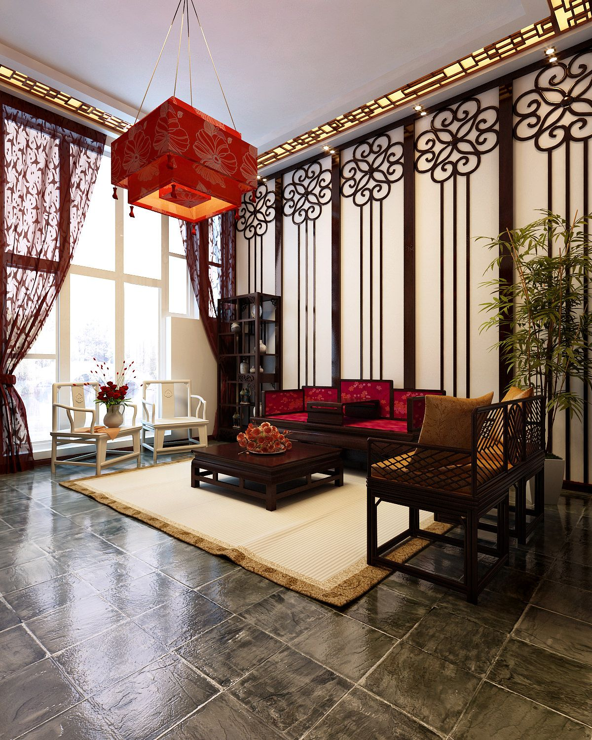Beautiful Asian Themed Bedroom : Chinese Style Bedroom Ideas ...