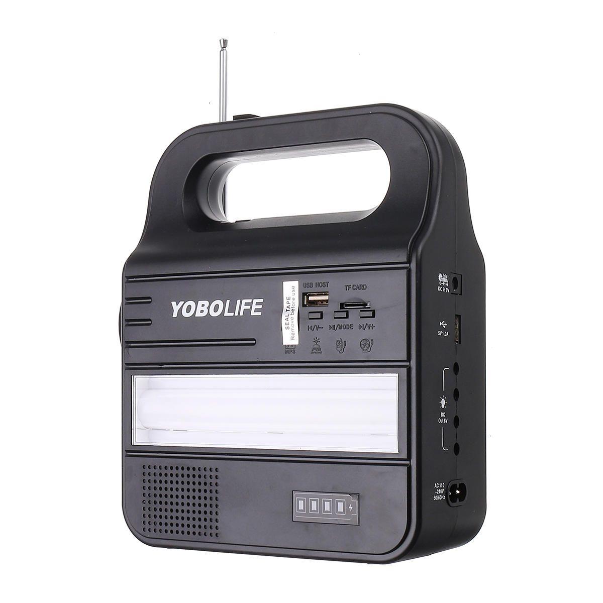 9V 3W Solar Panel Generator Kit Power Storage Portable MP3