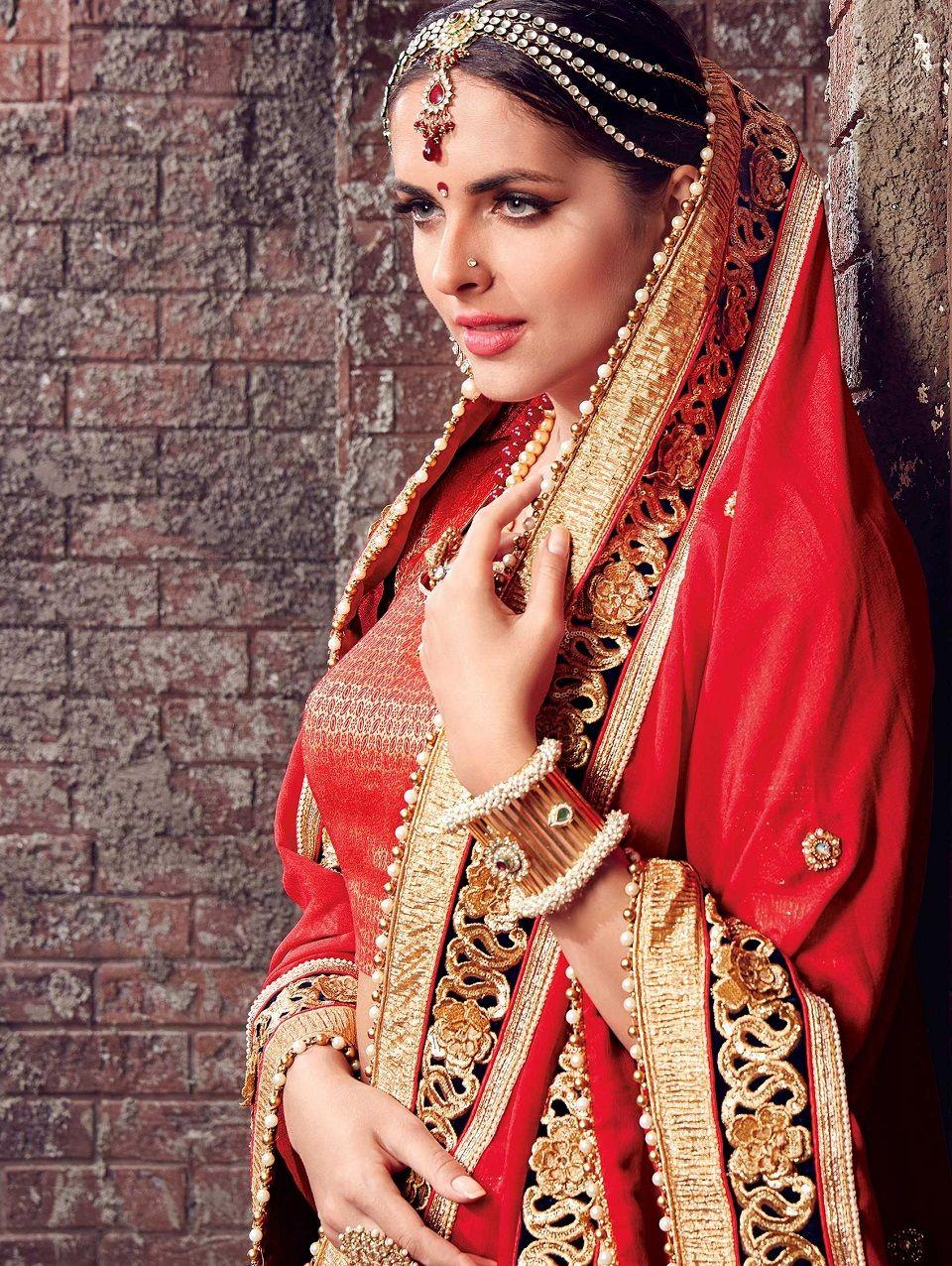 Indian Wedding Saree Latest Designs & Trends 20202021