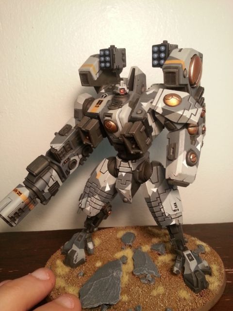 Riptide Battlesuit Photo by Jefferinio | Photobucket | Tau empire