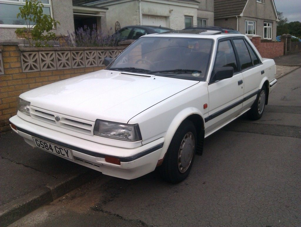 18 Nissan Bluebird 1.8gs bought new 1988 power steering rear ...