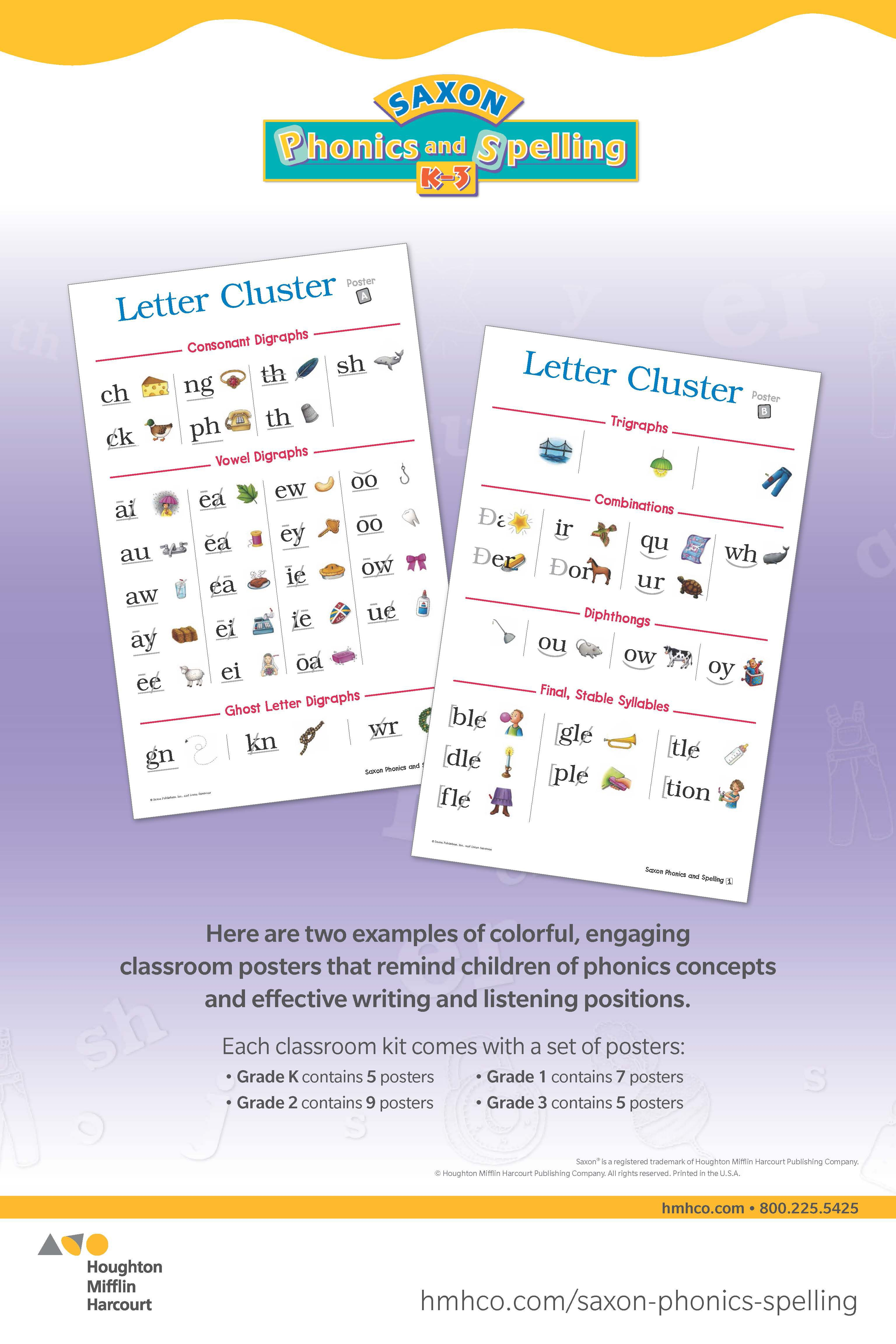 Enjoy These Examples Of Colorful Classroom Posters That Remind Children Of Phonics Concepts And Effective Writing Liste Saxon Phonics Phonics Reading Writing [ 4608 x 3072 Pixel ]