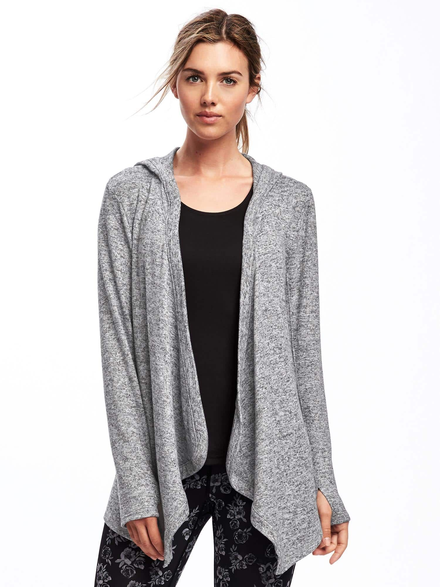 Go-Warm Open-Front Hoodie for Women | Old Navy | Sweater Weather ...