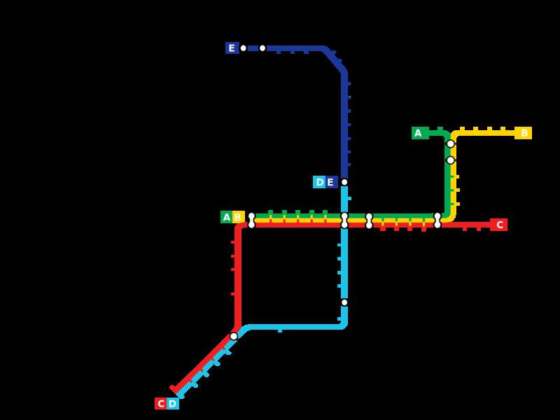 Plan du mtro de Rotterdam PaysBas METRO MAP Pinterest Rotterdam