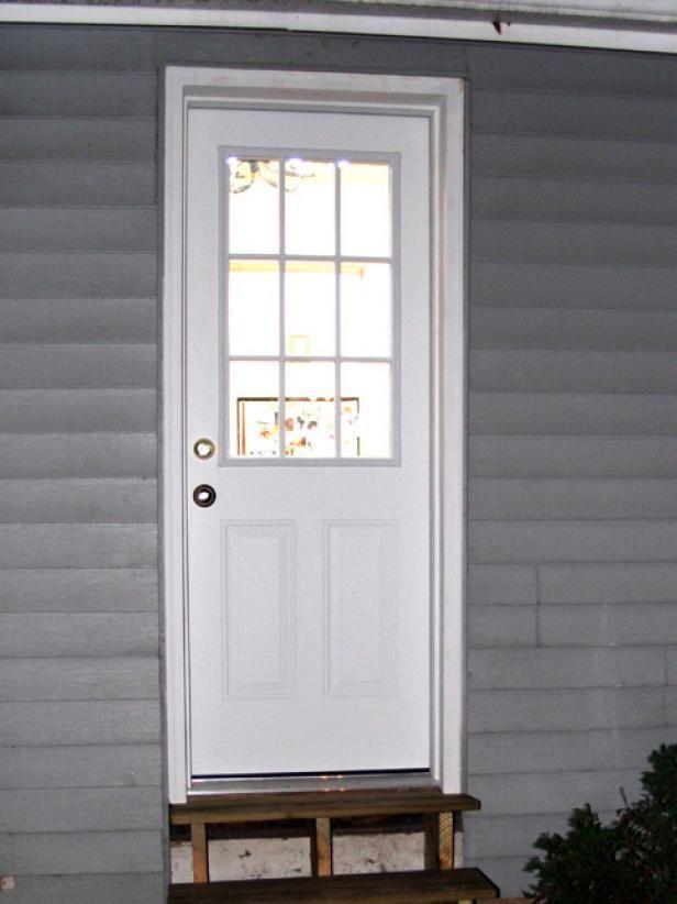 Expanding A Window To A Door Windows Door Picture Frame Home