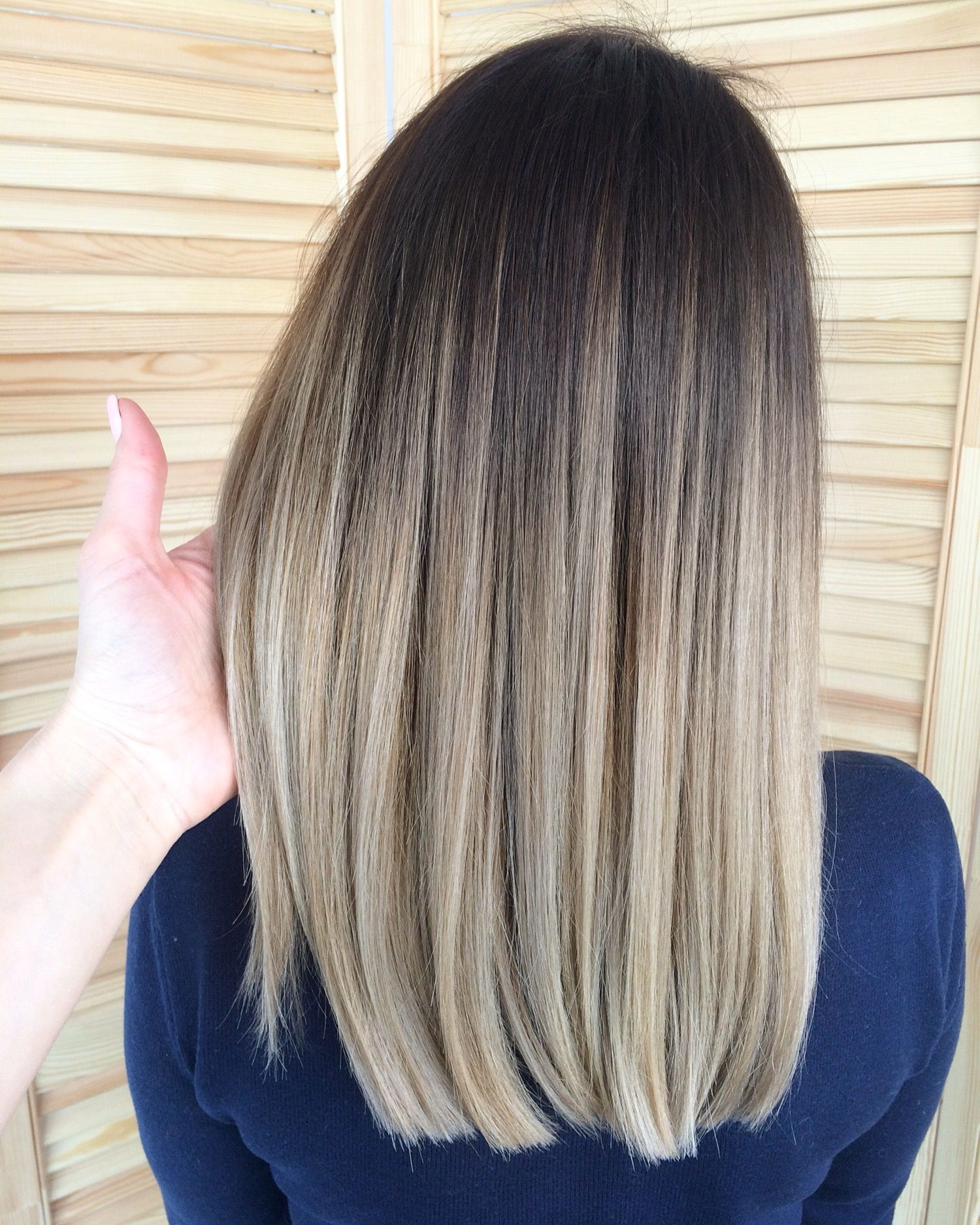 Dark Brown Base Ash Blonde Balayage I Think With Images