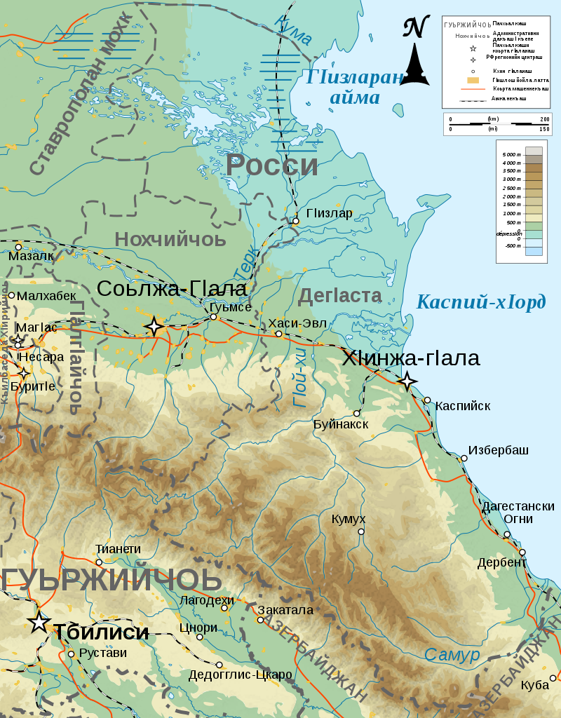 Topographic Map In Russian Of Dagestan Maps Topographic Map Map