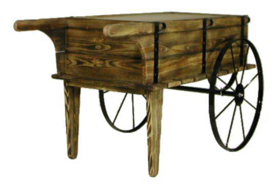 Attractive Flower Cart| Wood Flower Cart| Planter Cart