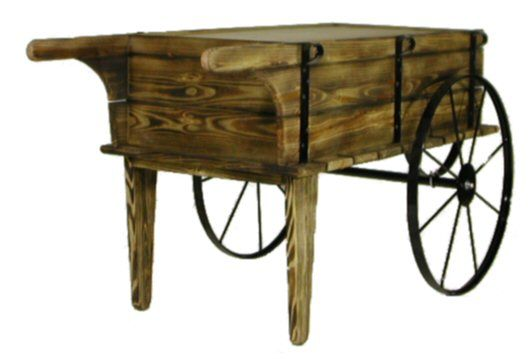 Flower Cart| Wood Flower Cart| Planter Cart · Wood GardensOutdoor ...