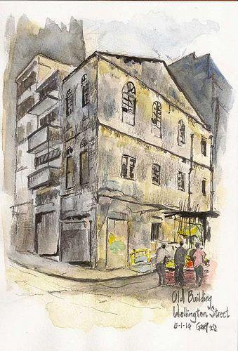 Old Building In Graham Street Old Buildings Street Building