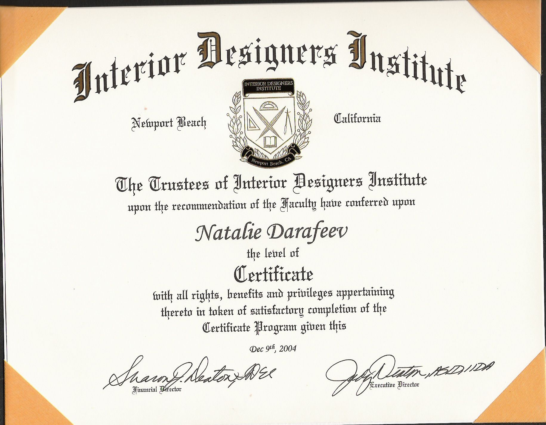 Explore Interior Design Certification And More!