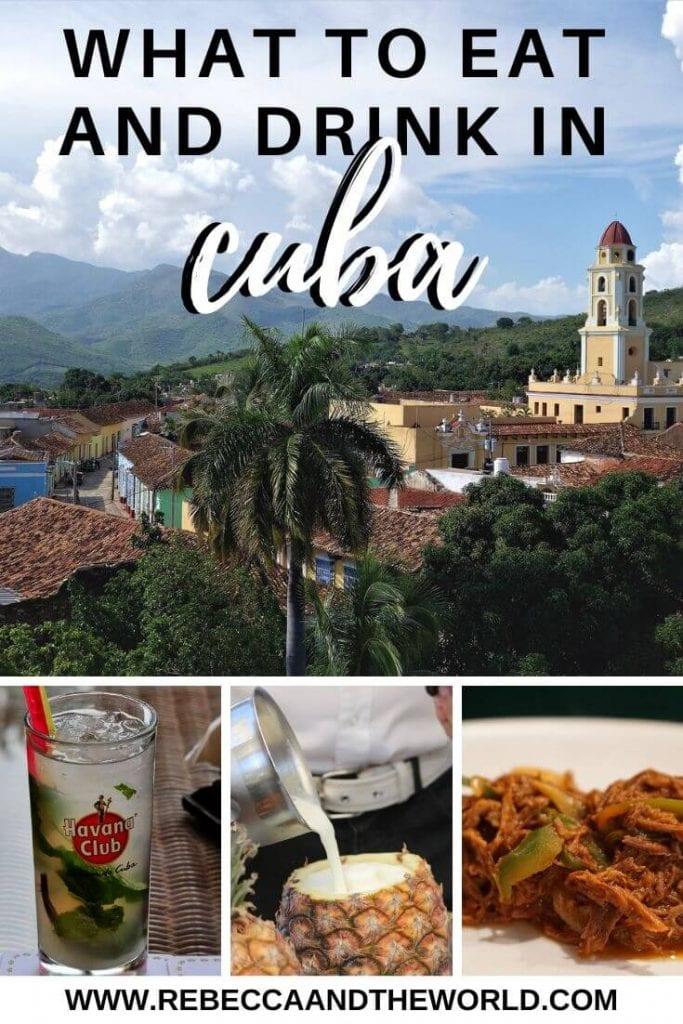 Cuban Food: What to Eat in Cuba #visitcuba