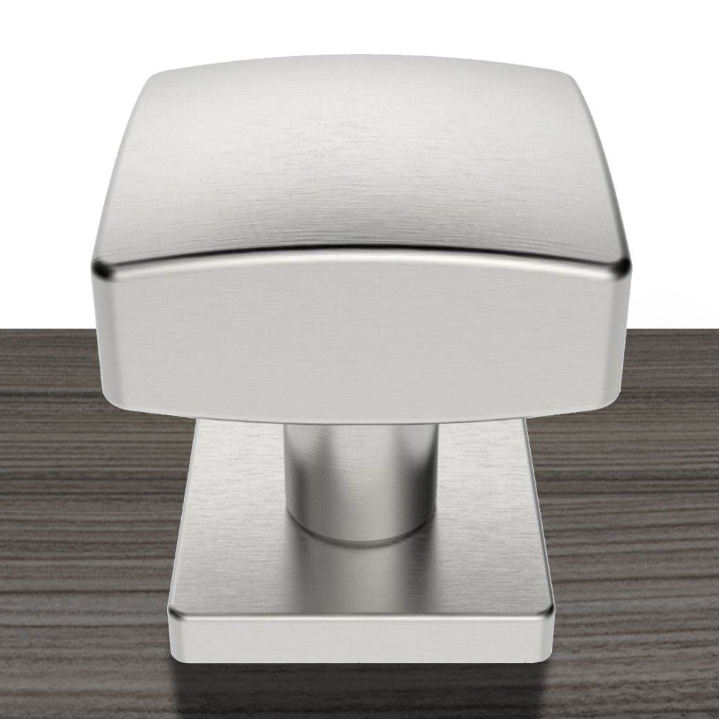 Steelworx SWE1062 Centre Door Knob Handle On Square Rose