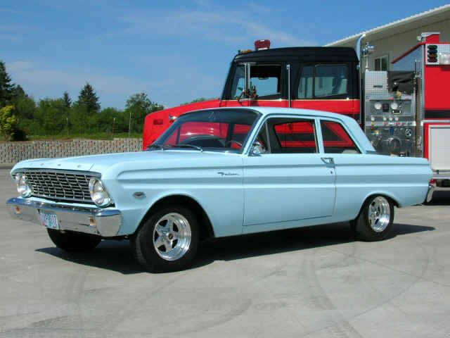 First Car I owned was a Ford Falcon.Don't remember what year it was.Got it for 2…