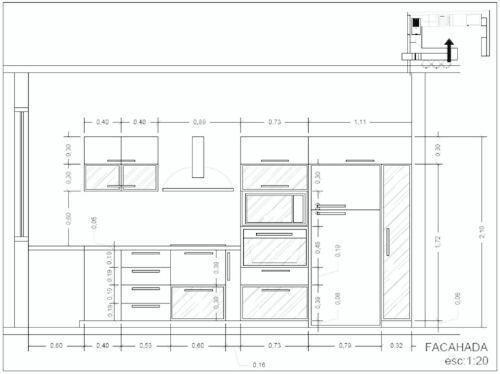 Cocinas empotradas y muebles de carpinteria a credito - Dimensiones muebles cocina ...